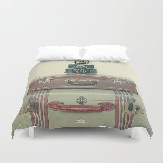 Leave Nothing Behind Duvet Cover