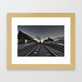 Bishops Lydeard by Dusk  Framed Art Print