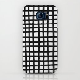 Hand-painted Grid iPhone Case