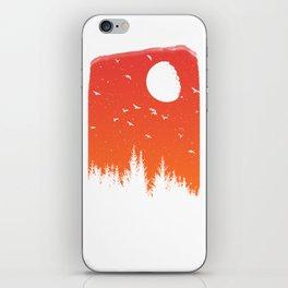 Sunset Night iPhone Skin