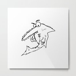 Sea Saw Metal Print