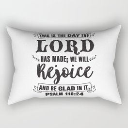 1 Corinthians 10:31 Rectangular Pillow