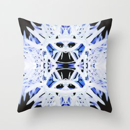 Spikyflake Throw Pillow