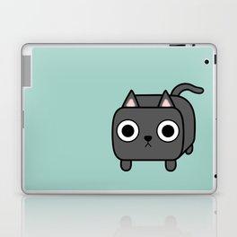 Cat Loaf - Grey Kitty Laptop & iPad Skin