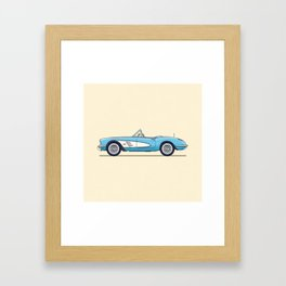 Corvette Framed Art Print