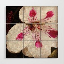 Flowers in the Summer Rain Wood Wall Art
