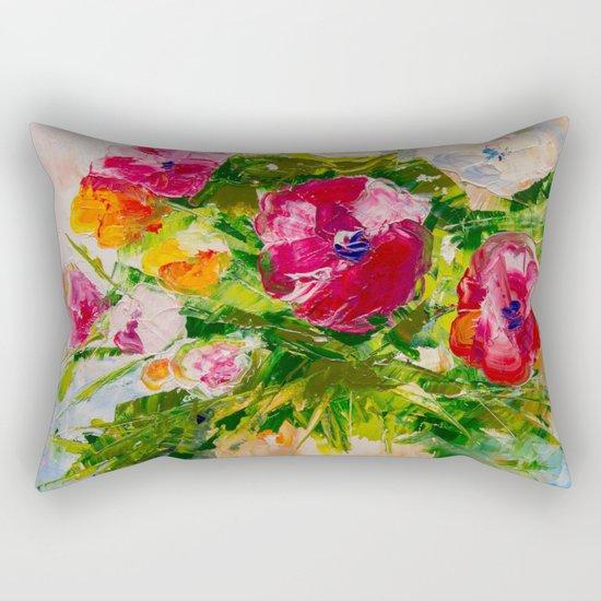 Wildflowers Rectangular Pillow