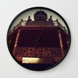 pretty city lV Wall Clock