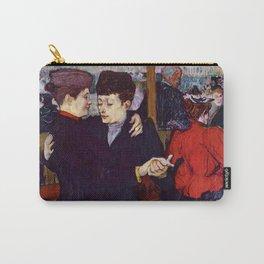 "Henri de Toulouse-Lautrec ""Two Woman Waltzing"" Carry-All Pouch"