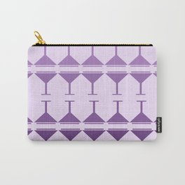 Monochromatic Martini - Purple Carry-All Pouch
