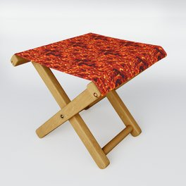 Fire for decorative products Folding Stool