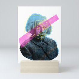 Einstein! Mini Art Print