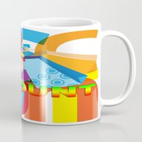 discount Mugs featuring Creative Title : DISCOUNT by Don Kuing