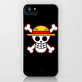 Straw hat Flag iPhone Case