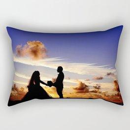 I Do (Sunset Wedding) Rectangular Pillow