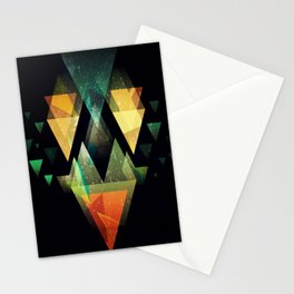 The Triangle collection  Stationery Cards