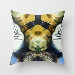 rounded stone Throw Pillow