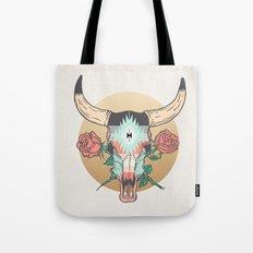 cráneo de vaca Tote Bag