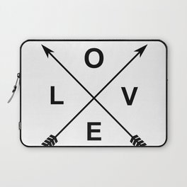 Love and Arrows Laptop Sleeve