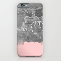 Crayon Marble with Pink iPhone 6s Slim Case