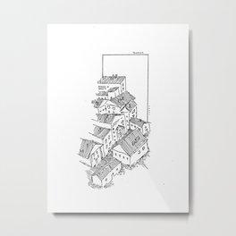 Village Metal Print