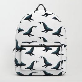Watercolour Humpback Whale Backpack