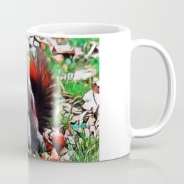 Aberts Squirrel | Painting  Coffee Mug