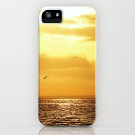 The Bay's Golden Hour iPhone Case