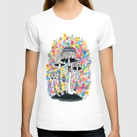 mushrooms T-shirts featuring Mushrooms by Asja Boros