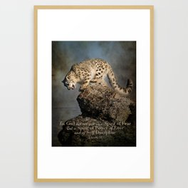 Spirit of Power Framed Art Print