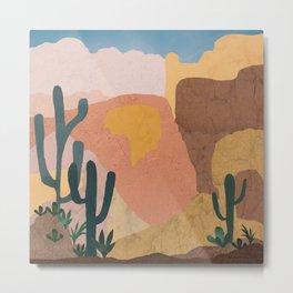 Utah Desert Abstract Metal Print