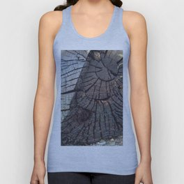 Rings of a tree Unisex Tank Top