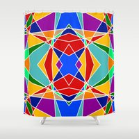 cracked Shower Curtains featuring Cracked by MarkStantonDesign