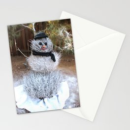 Winter Tumble Man Stationery Cards