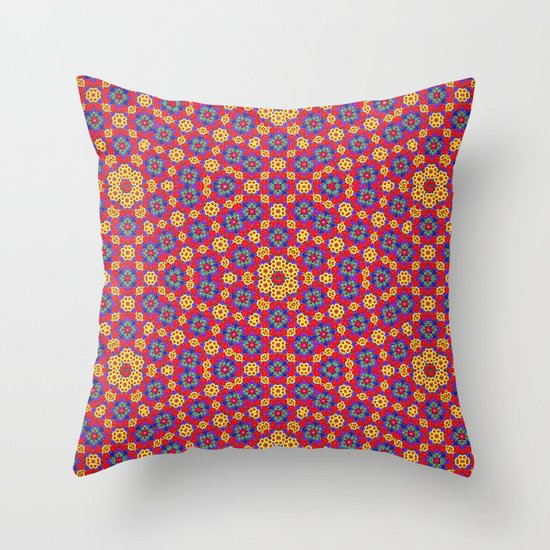 Country Festival Pattern Throw Pillow