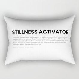 Stillness Activator Rectangular Pillow