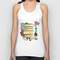 books Tank Tops featuring Books by famenxt