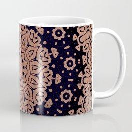 Maya // Bohemian Gypsy Decor Mandala Hippy Free Spirit Boho Flower Girl Black Beige Coffee Mug