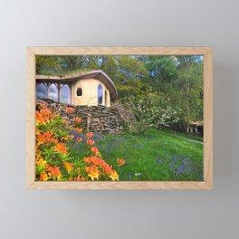 Where Fairies Live - Fairy House Framed Mini Art Print