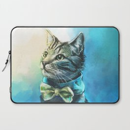 Handsome Cat Laptop Sleeve