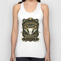 whiskey Tank Tops featuring Longhorn Whiskey by jaredhiebert