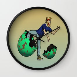 The Num Nums - Ziggy Wall Clock