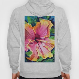 Tropical Bliss Hibiscus Hoody