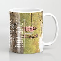 moonrise kingdom Mugs featuring Moonrise Kingdom by Alan Betancourt