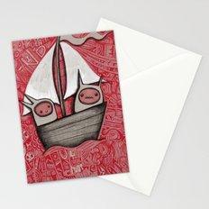 The Treacherous Journey Stationery Cards