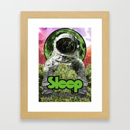 Sleep : The Botanist Framed Art Print