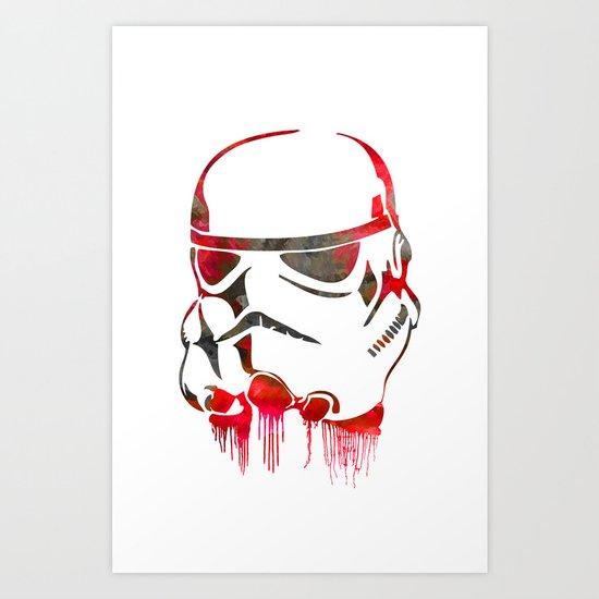 Storm Trooper Print Art Print