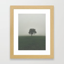 From out of the mist Framed Art Print