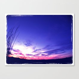 Big Sky Sunset Canvas Print