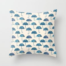 rain #2 Throw Pillow